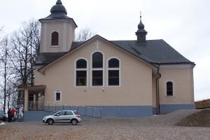 Prestavba kostola, Komjatná_1