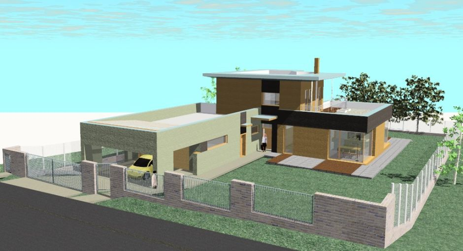 Rodinné a bytové domy