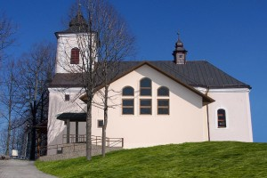Prestavba kostola, Komjatná_2